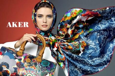 Aker Eşarp Modelleri 2012-2013 Sonbahar/Kış Koleksiyonu