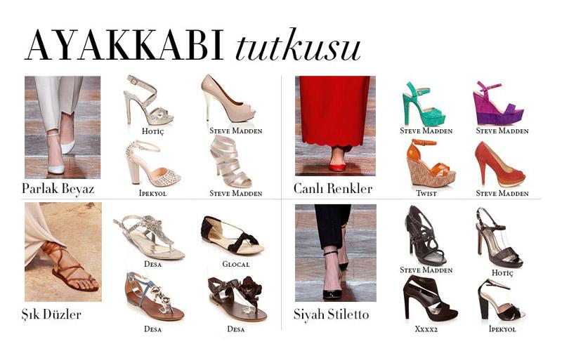 Sezonun Ayakkabı Trendleri Neler?