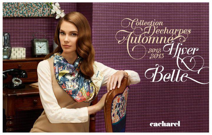 Cacharel 2012-2013 Sonbahar-Kış Eşarp Modelleri
