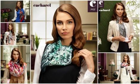 Cacharel 2012-2013 sonbahar kış eşarp modelleri
