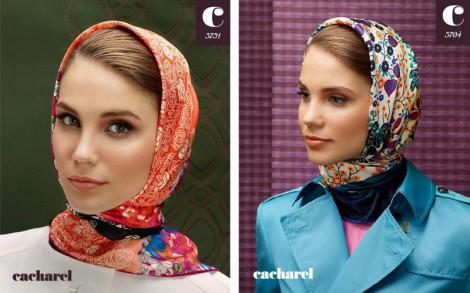 Cacharel Eşarp Modelleri 2012-2013