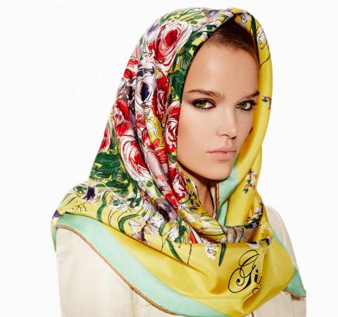 Gizia Eşarp 2012 Modelleri