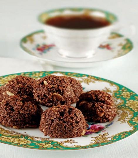 kayısılı koko kurabiye