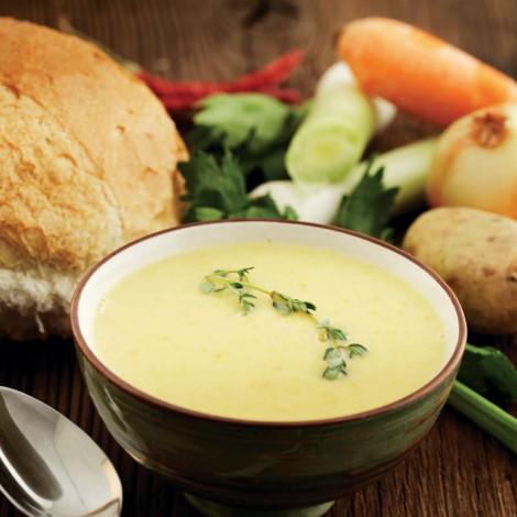 kremalı pırasa çorbası