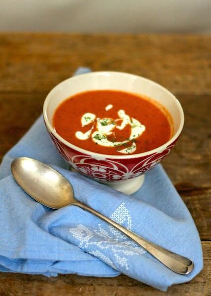 peynir kremalı domates çorbası