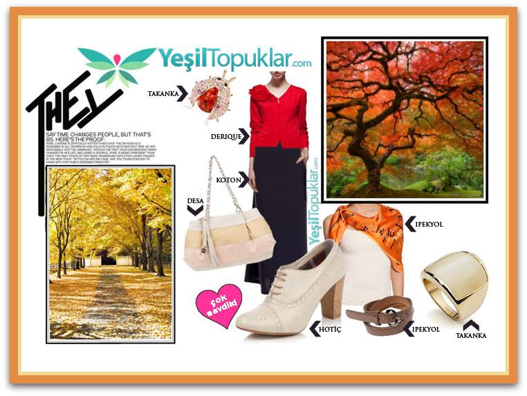 2012-2013-Sonbahar-Kış Tesettür Giyim Kombinleri