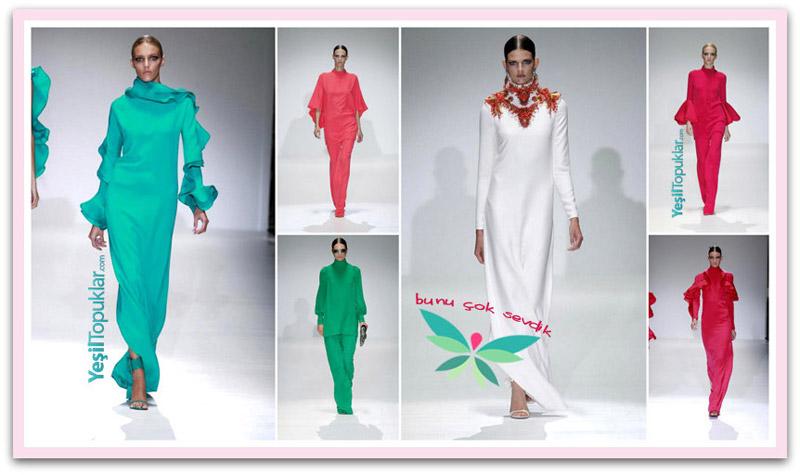 Gucci 2013 Yaz Defilesinden Tesettüre Uygun Elbise Modelleri!