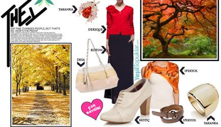 Tesettür Giyim Kombinleri: Sonbahar Trendleri