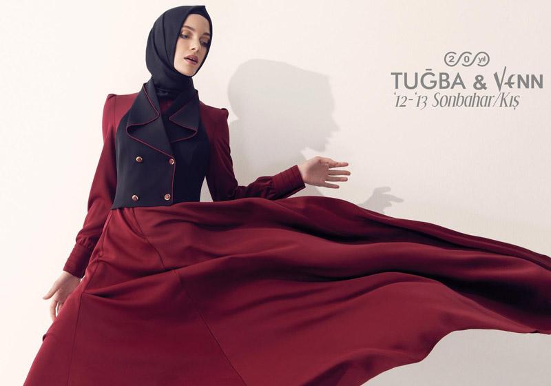 Tuğba-Venn-2012-2013-Sonbahar-Kış-Tesettür-Giyim-Koleksiyonu