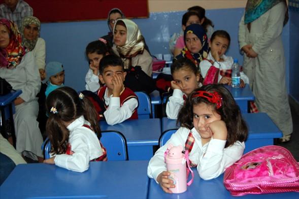 Okulda İlk Gün Heyecanı