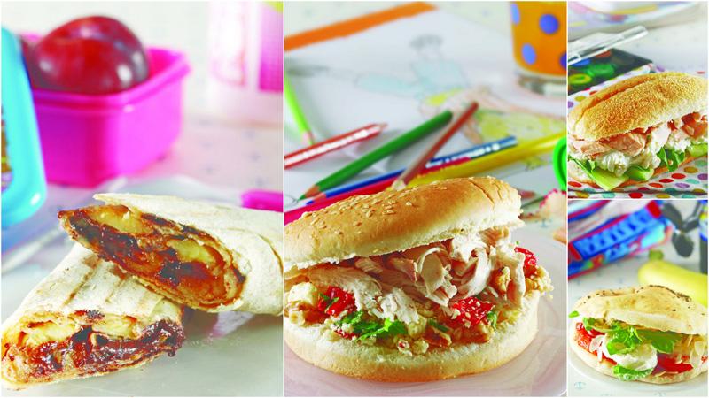 Beslenme saati için sandviç tarifleri