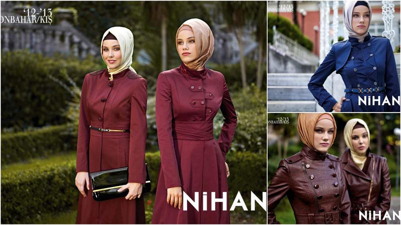 Nihan Giyim 2012-2013 Pardesü Modelleri