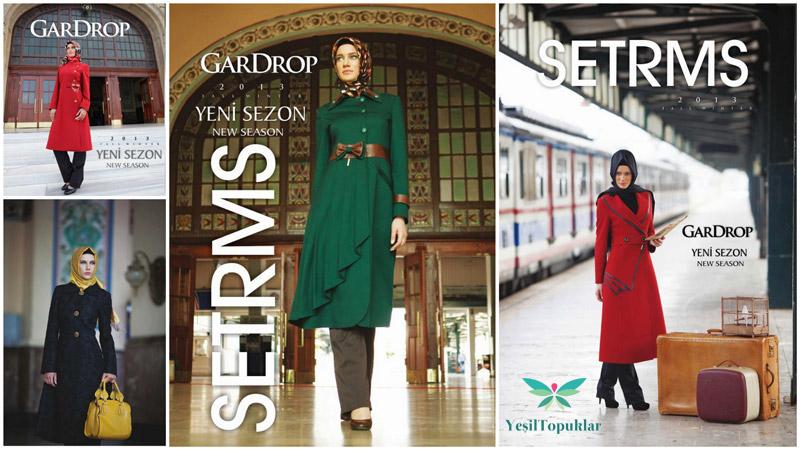 Setrms 2013 Tesettür Giyim Modelleri