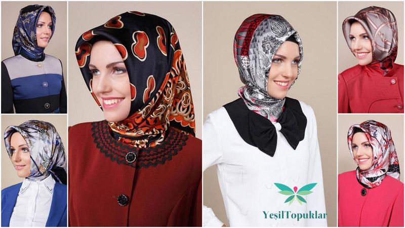 Tekbir Eşarp Modelleri 2013 Kış