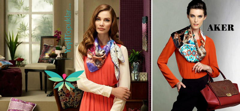 Tesettür Giyim Modelleri 2012-2013 Sonbahar Kış Aker Tuba Venn Kayra