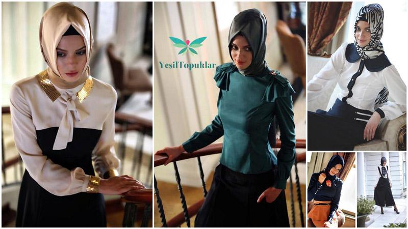 Vizyon tesettür giyim modelleri 2013 sonbahar kış