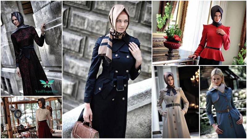 Vizyon Tesettür Giyim Modelleri 2013 Sonbahar-Kış