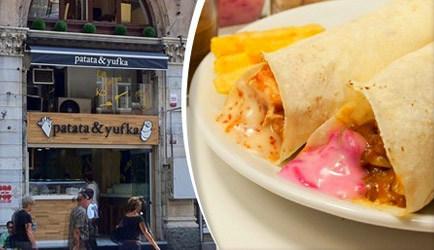 Leziz Fastfood Restoranı: Patata & Yufka