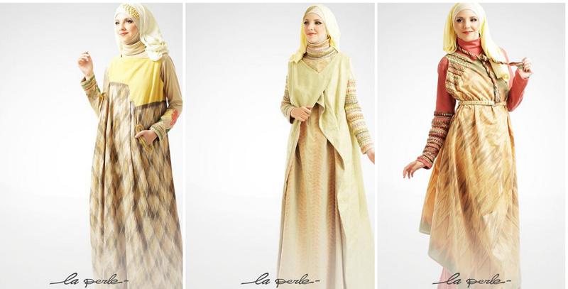Irna La Perle Tesettür Giyim Elbise Modelleri