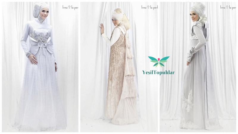 Tesettür Gelinlik Modelleri 2013 Irna La Perle