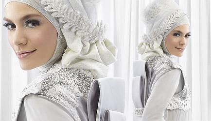 Irna La Perle Tesettür Gelinlik Modelleri 2013