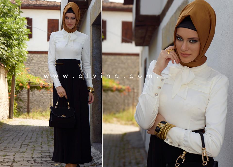 Alvina 2012 2013 Tesettür Giyim Modelleri