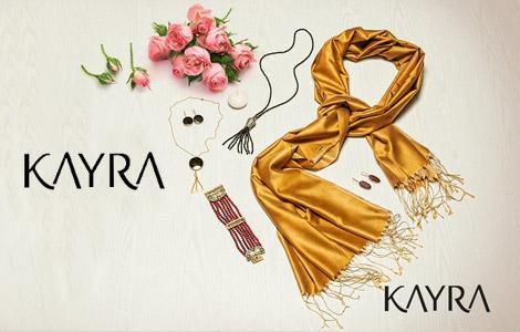 Kayra Matt Collection Saf İpek Şal Modelleri