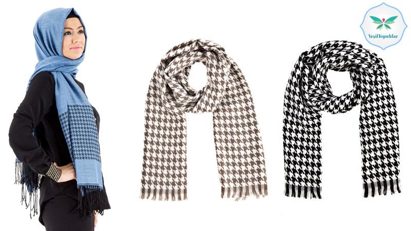 Kaz-Ayağı-Deseni-Tesettür-Giyim-Modelleri 2013