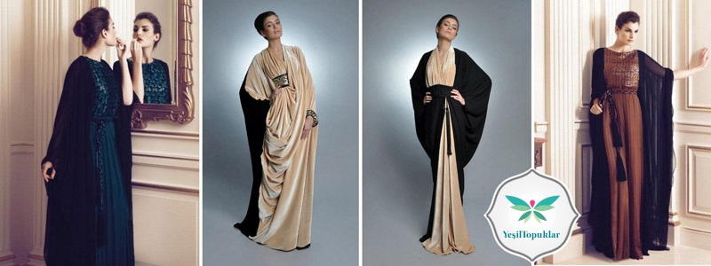 Tesettür Abiye Elbise ve Abaya Modelleri 2013