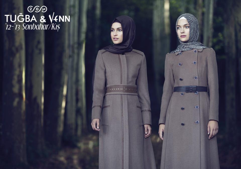 Tuğba&Venn 2012-2013 Manto ve Kaban Modelleri