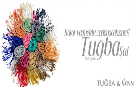Tuğba&Venn 2013 Şal Modelleri
