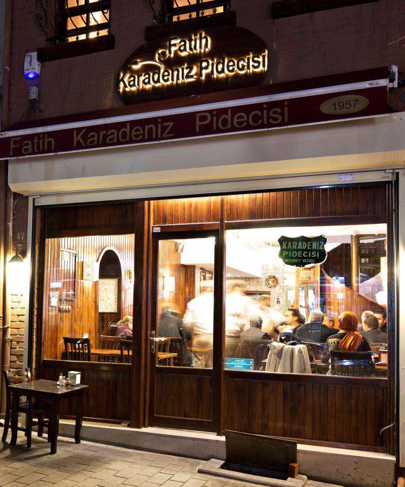 Alkolsüz Mekanlar  Fatih Karadeniz Pidecisi