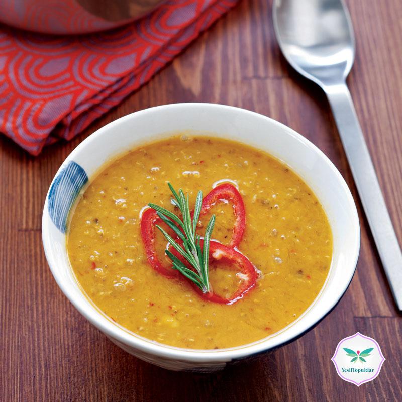 Baharatlı-Mercimek-Çorbası