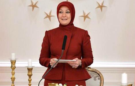 Hayrünnisa Gül, Büyükelçi Eşlerini Çankaya Köşkü'nde Ağırladı