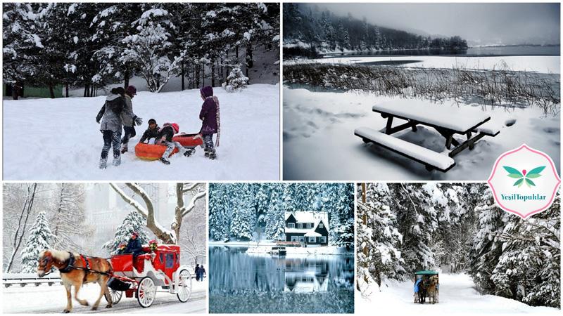 Kış Mevsiminin En Güzel Tatil Mekanı 'Bolu Abant'