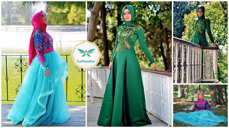Tesettür Abiye Elbise Modelleri 2013 Fatma Sevildi