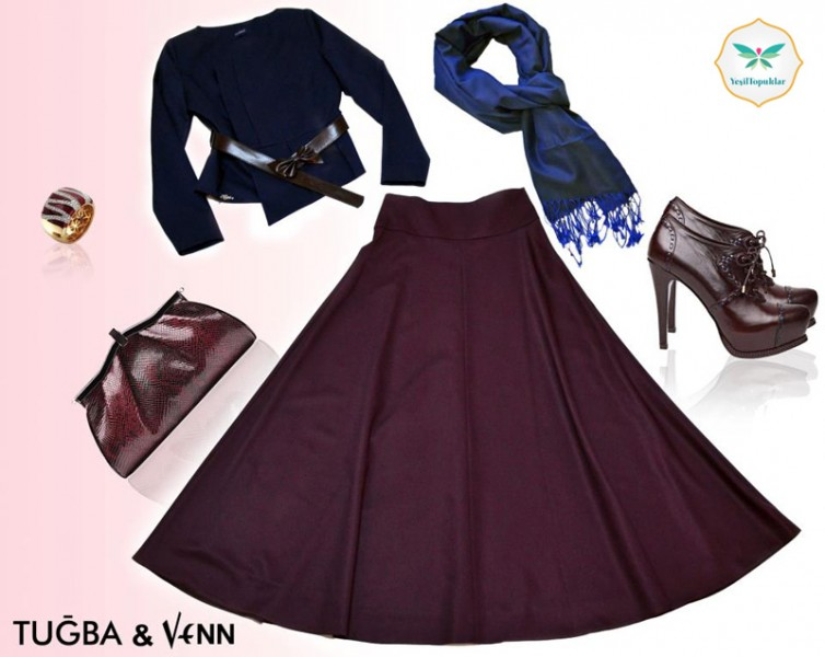 Tuğba venn 2013 etek ve elbise modelleri1