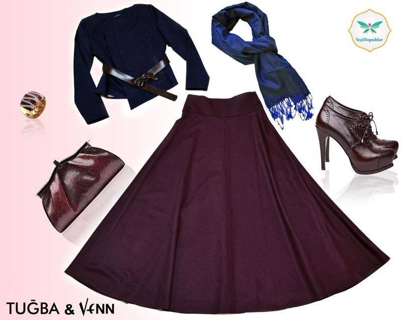 Tuğba Venn 2013 Etek ve Elbise Modelleri