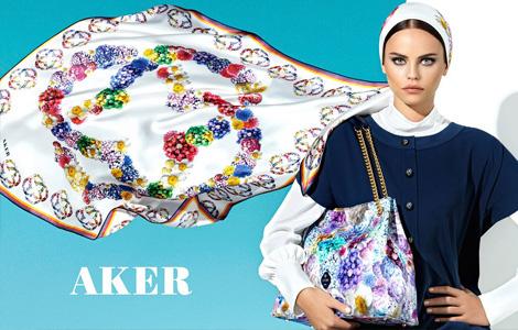 Aker 2013 İlkbahar-Yaz Eşarp Modelleri