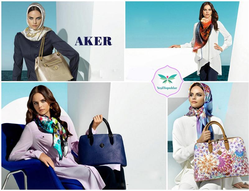 Aker-2013-İlkbahar-Yaz-Eşarp-Modelleri