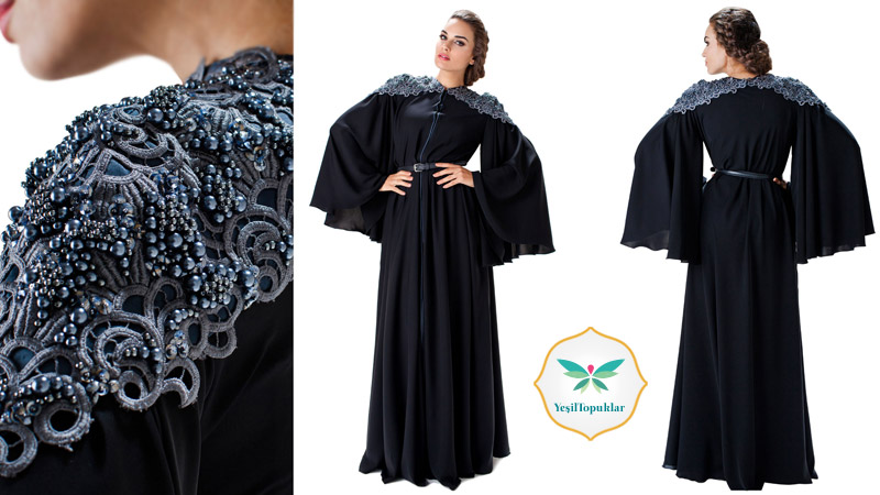 Dubai Abaya ve Ferace Modelleri 2013