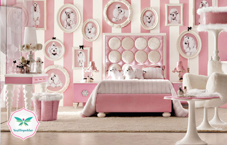 2013 ün en güzel çocuk odası dekorasyon önerileri