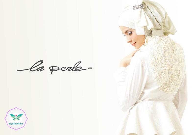 Irna La Perle 2013 Tesettür Gelinlik Modelleri
