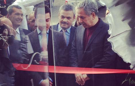 Naquesh Cafe&Butik, Bülent Arınç'ın Katılımlarıyla Açıldı!