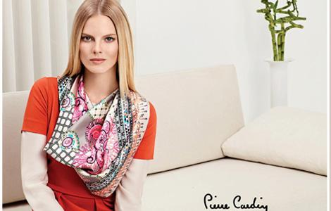 Pierre Cardin 2013 İlkbahar-Yaz Eşarp Modelleri
