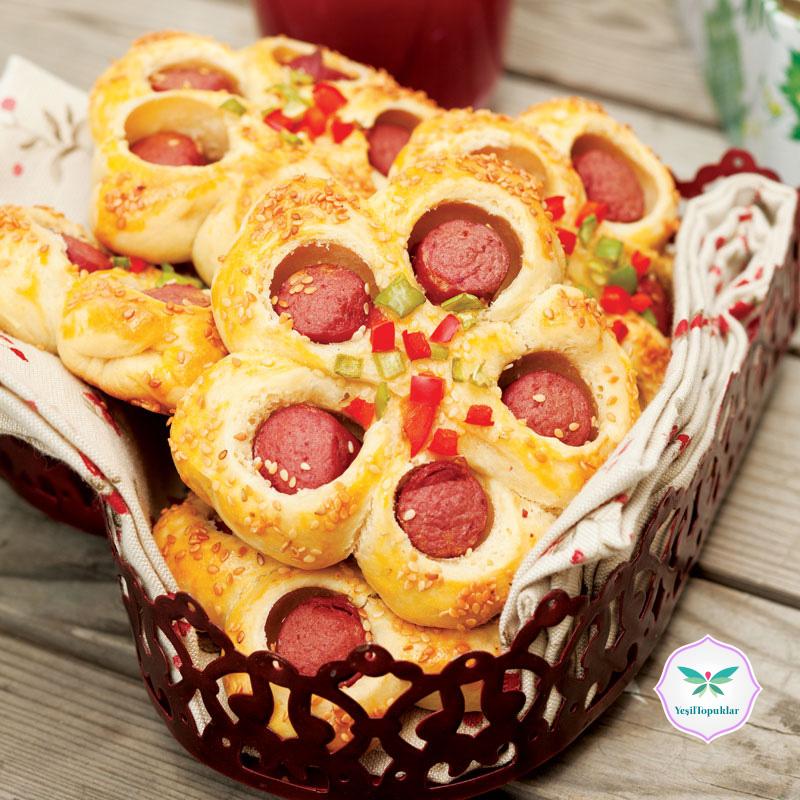 Sosisli-Çörek