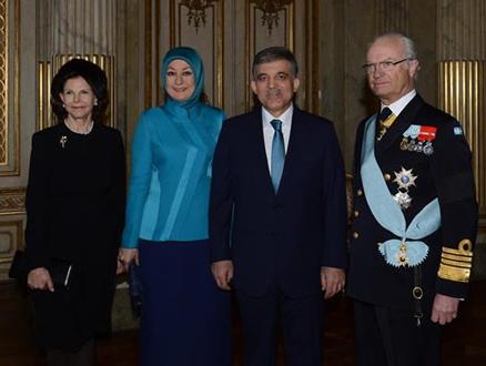 Hayrünnisa Gül İsveç'te Türk Vatandaşlarıyla Bir Araya Geldi