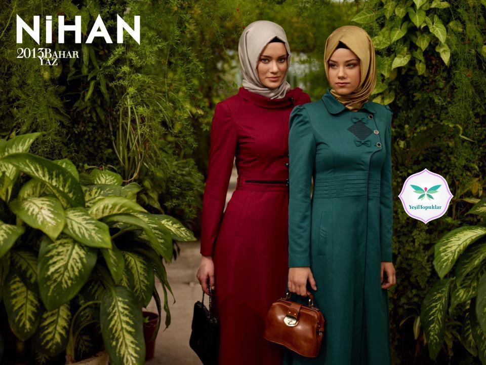 Nihan 2013 Tesettür Giyim Modelleri İlkbahar Yaz (1)