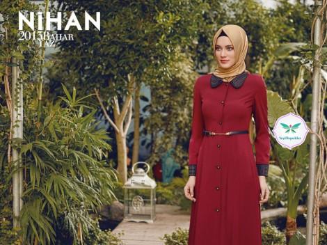 Nihan 2013 Tesettür Giyim Modelleri İlkbahar Yaz