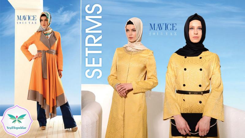 Setrms 2013 İlkbahar Yaz Tesettür Giyim Modelleri